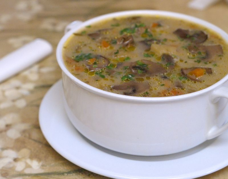 My Favorite Dried Porcini Soup (Food and Crafts for All Occasions)